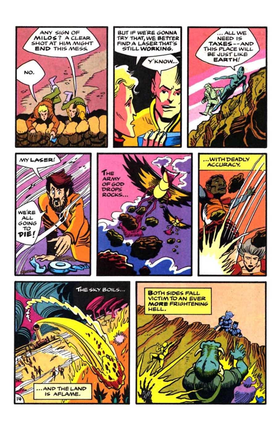 Read online Mars comic -  Issue #9 - 16