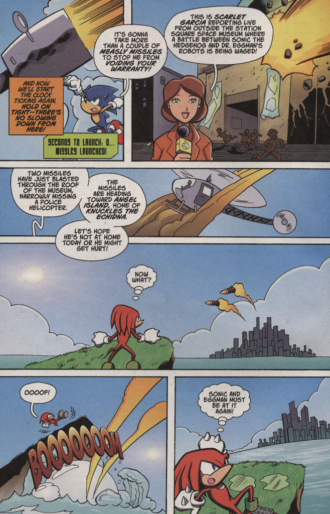 Read online Sonic X comic -  Issue #4 - 6