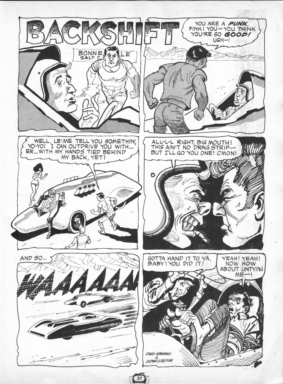 Drag Cartoons issue 7 - Page 37