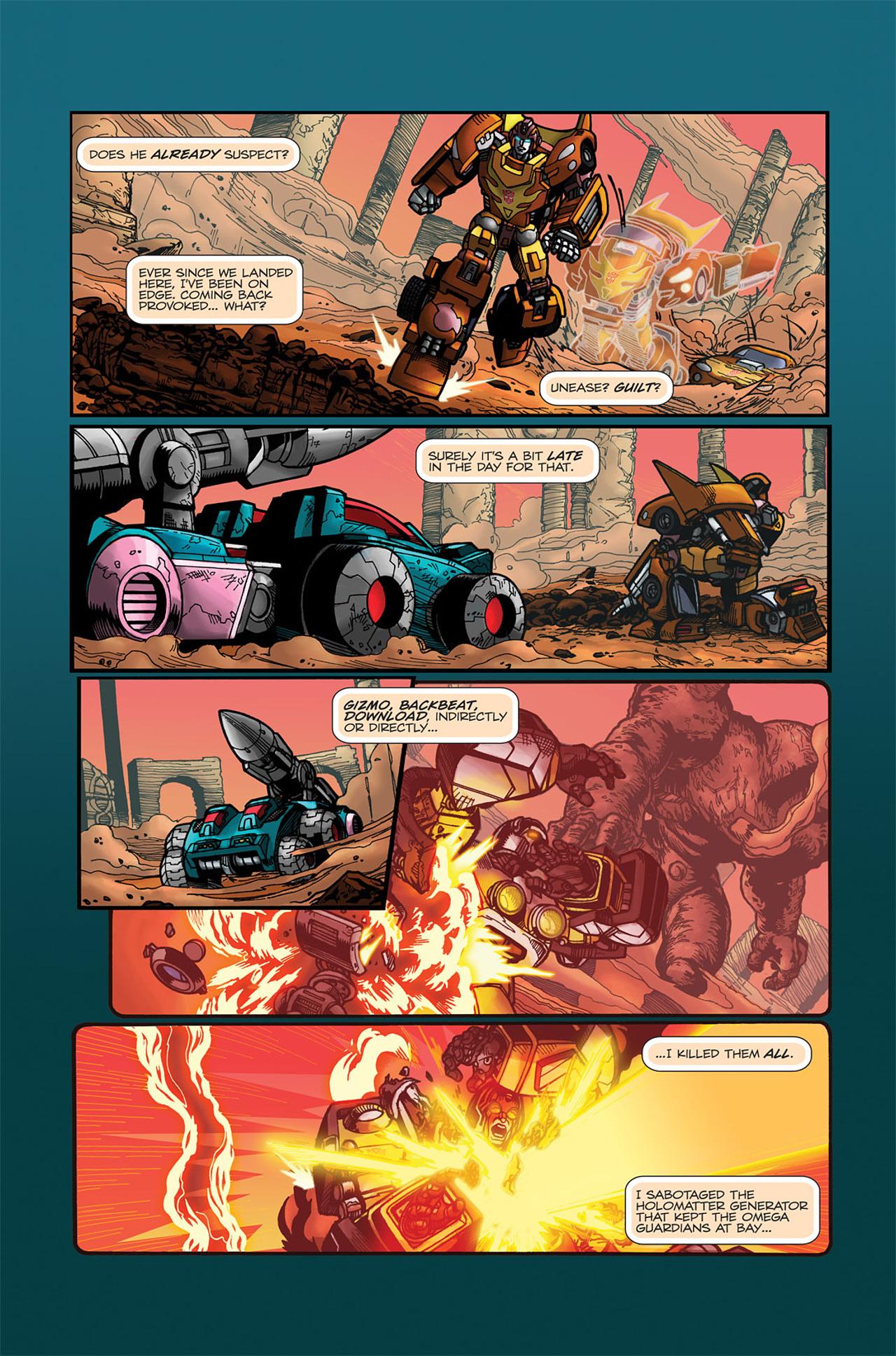 Read online Transformers Spotlight: Doubledealer comic -  Issue # Full - 13