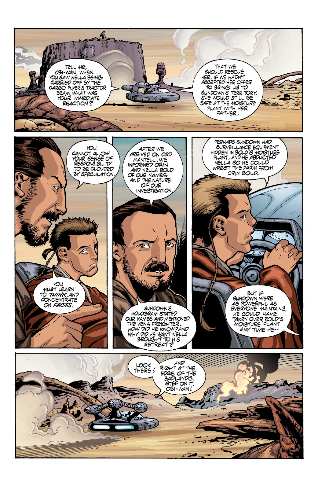 Read online Star Wars Legends: Rise of the Sith - Epic Collection comic -  Issue # TPB 1 (Part 4) - 17