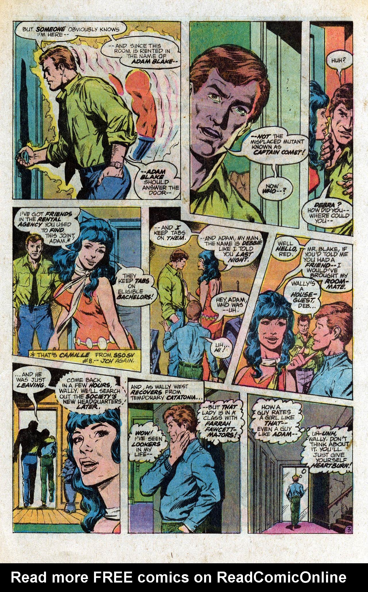 Read online Secret Society of Super-Villains comic -  Issue #9 - 5