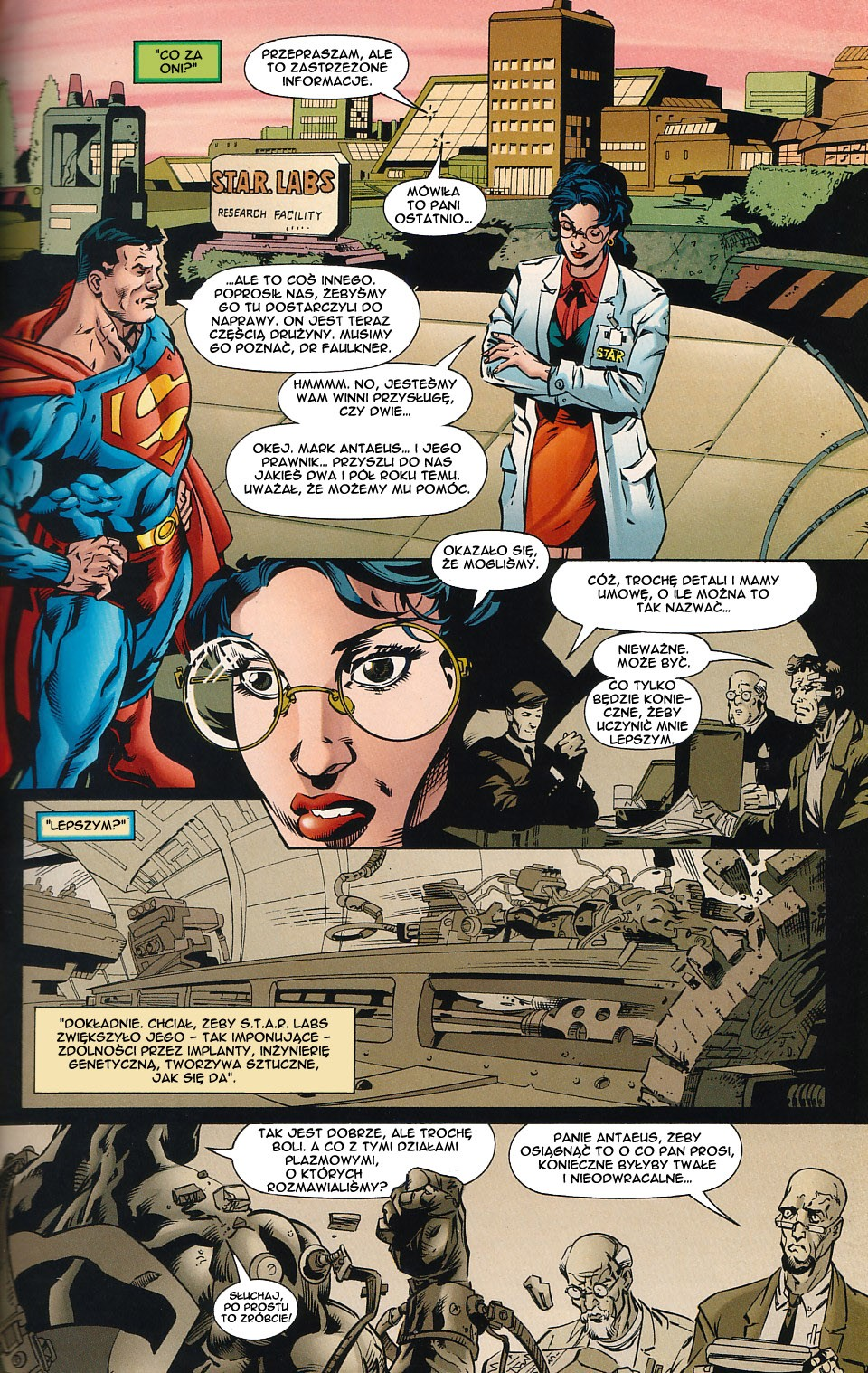 Read online JLA Superpower comic -  Issue # Full - 27