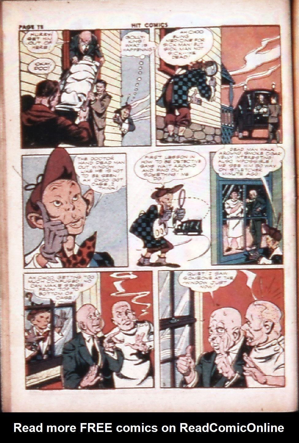 Read online Hit Comics comic -  Issue #29 - 20