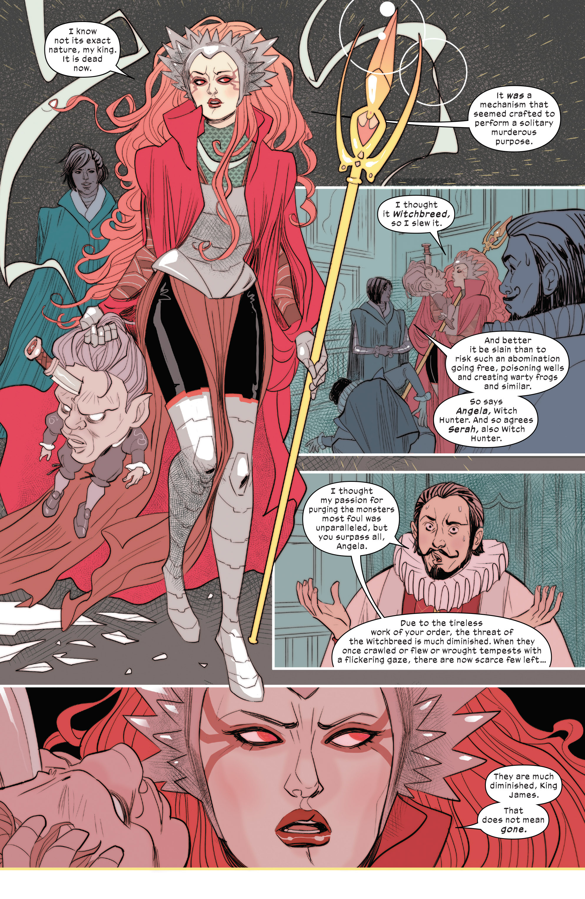 Read online 1602 Witch Hunter Angela comic -  Issue #1 - 5