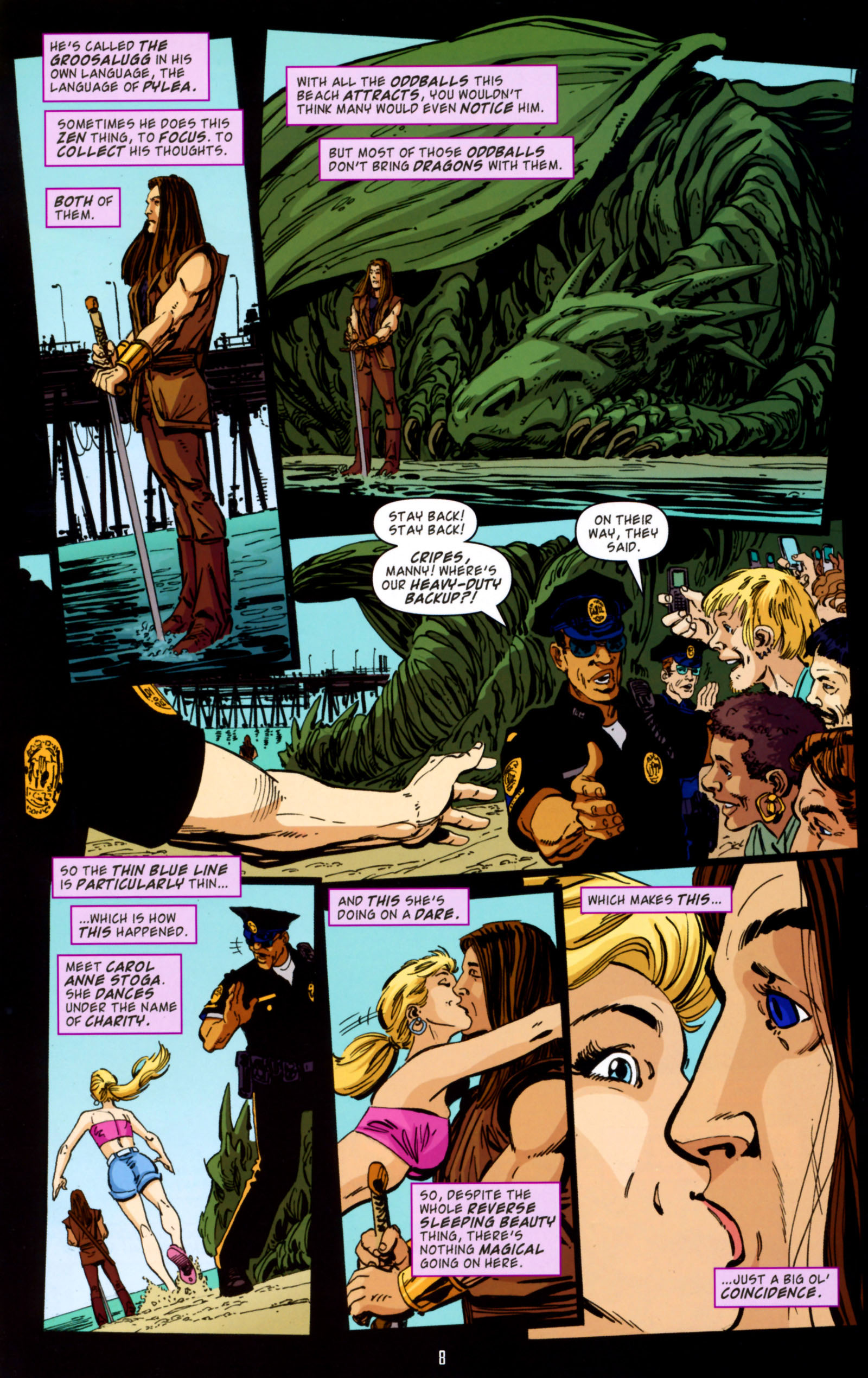 Read online Angel Special: Lorne comic -  Issue # Full - 9