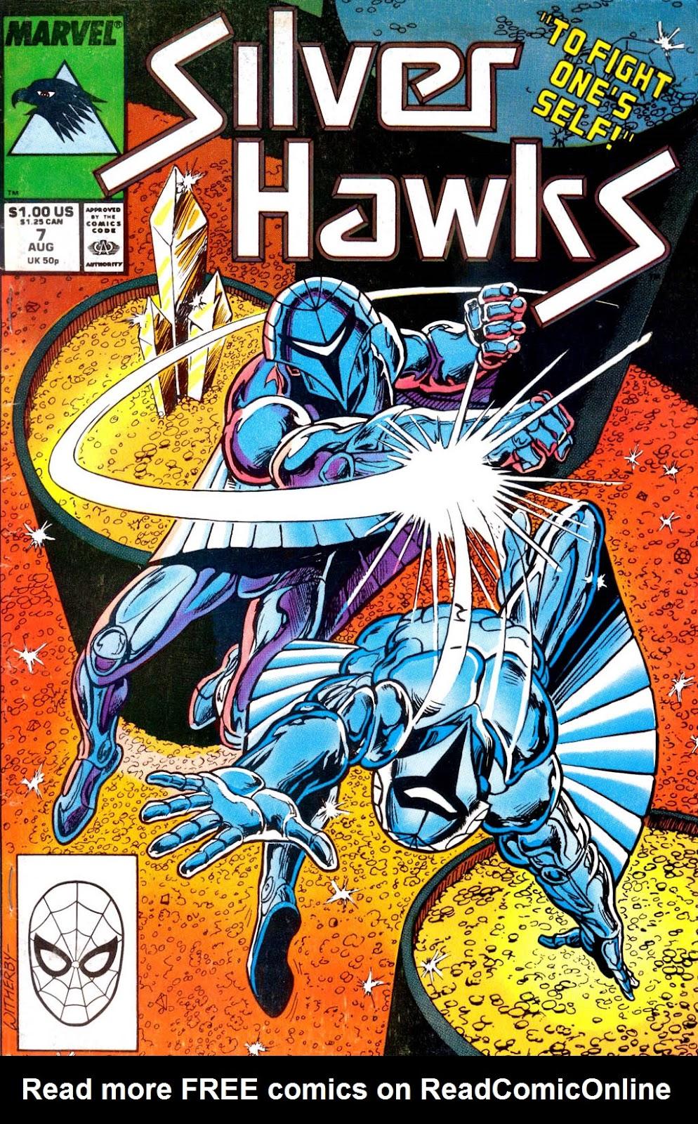 SilverHawks 7 Page 1
