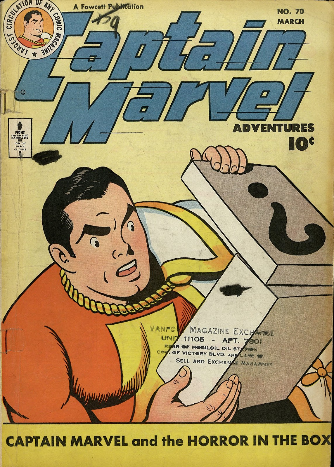 Captain Marvel Adventures 70 Page 1