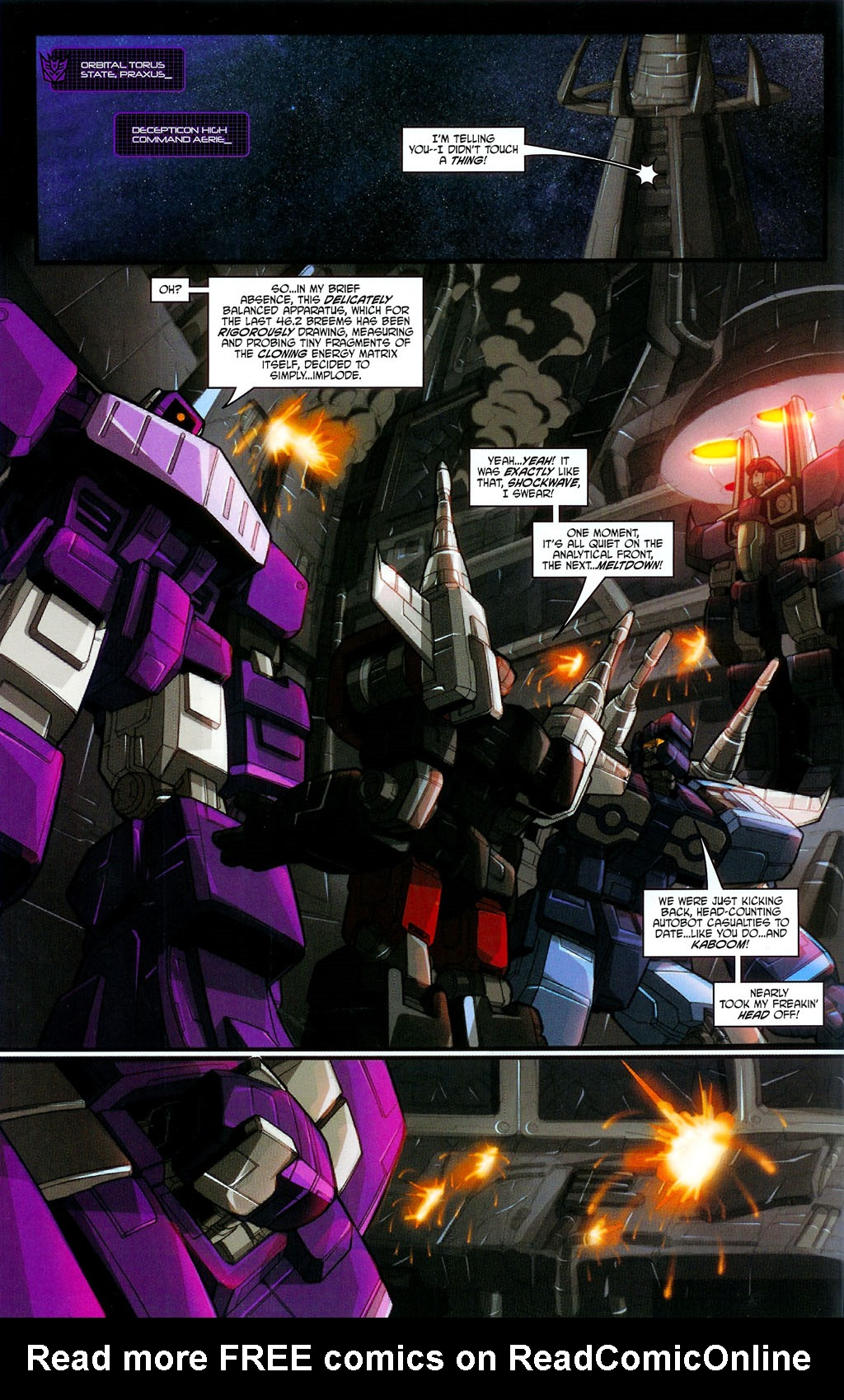 """Read online Transformers War Within: """"The Age of Wrath"""" comic -  Issue #3 - 12"""