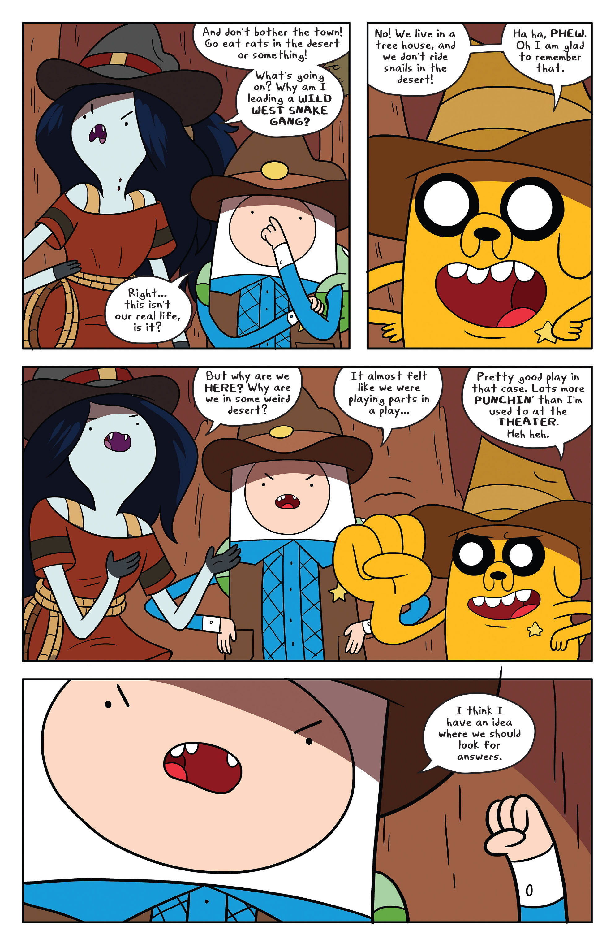 Read online Adventure Time comic -  Issue #54 - 19