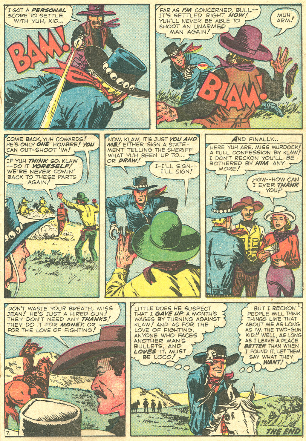 Read online Two-Gun Kid comic -  Issue #51 - 17