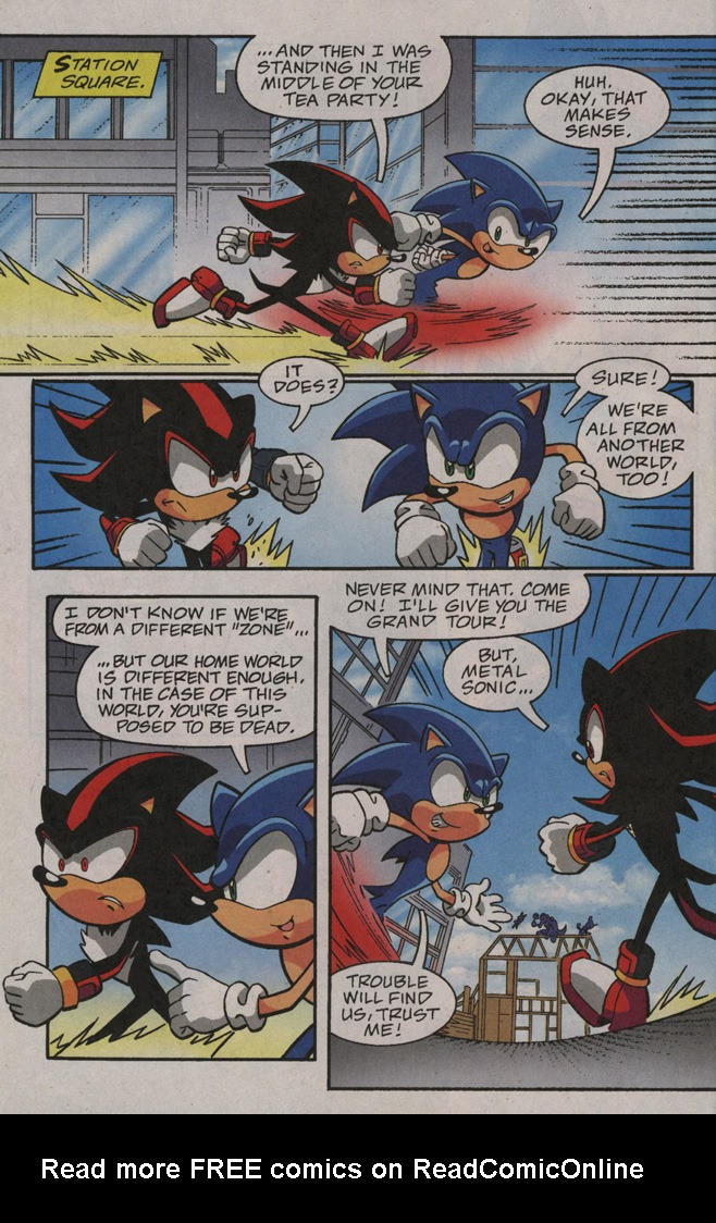 Read online Sonic X comic -  Issue #40 - 6