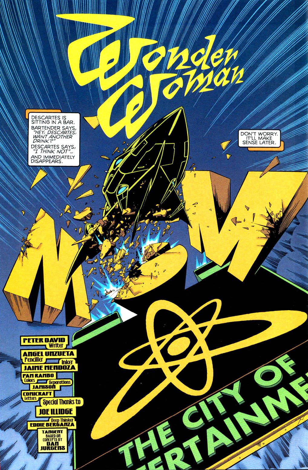 Read online Tangent Comics/ Wonder Woman comic -  Issue # Full - 3