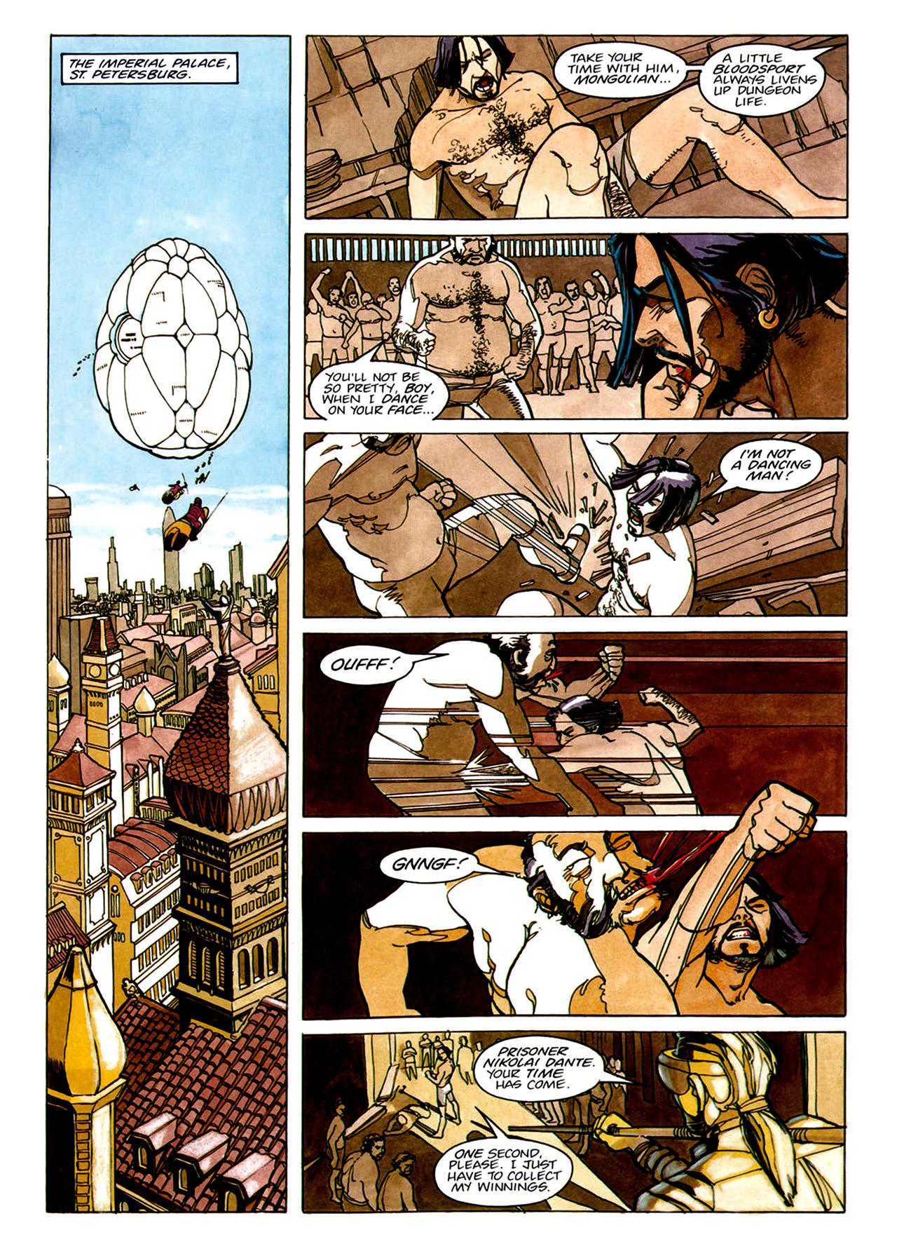 Read online Nikolai Dante comic -  Issue # TPB 1 - 12