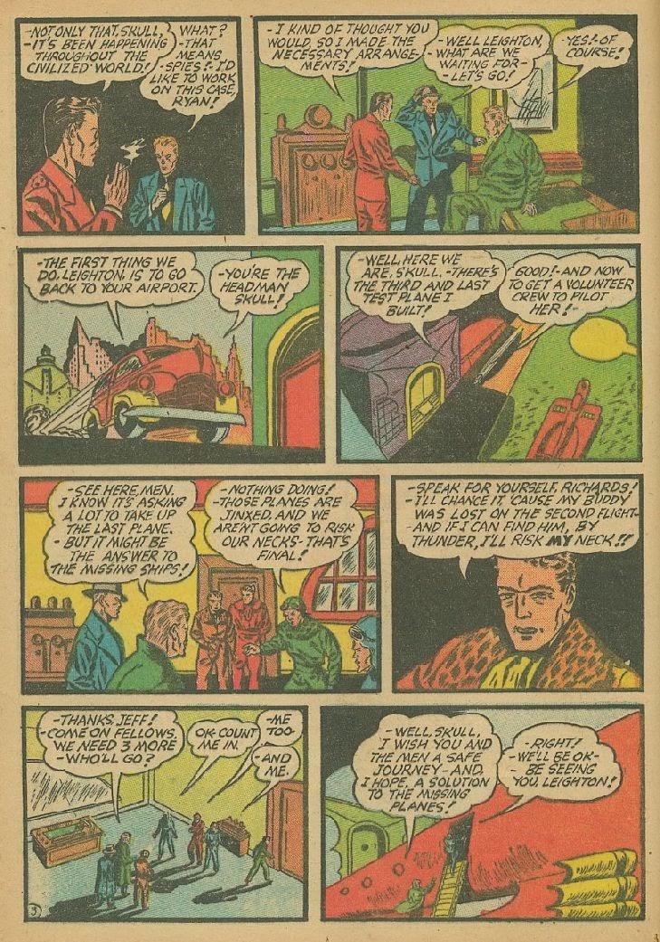 Read online Amazing Man Comics comic -  Issue #9 - 23