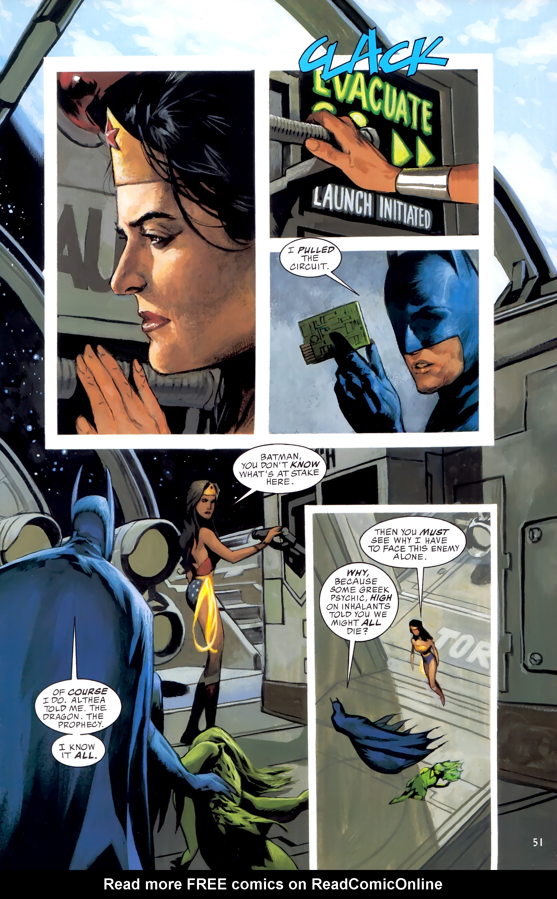 Read online JLA: A League of One comic -  Issue # Full - 58