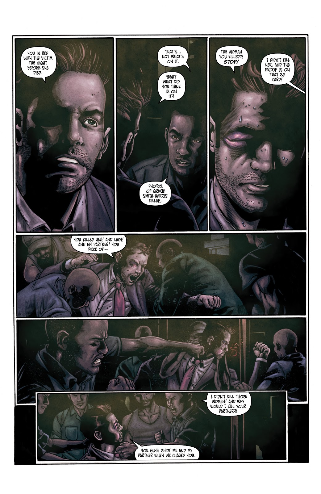 Read online Vindication comic -  Issue #3 - 7