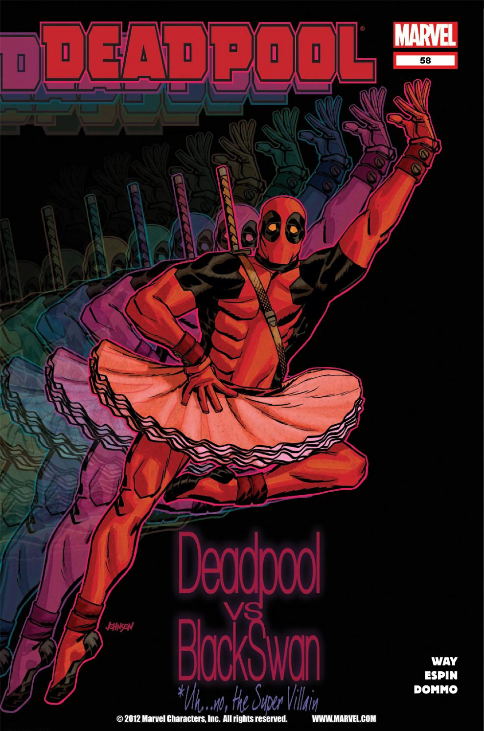 Read online Deadpool (2008) comic -  Issue #58 - 1