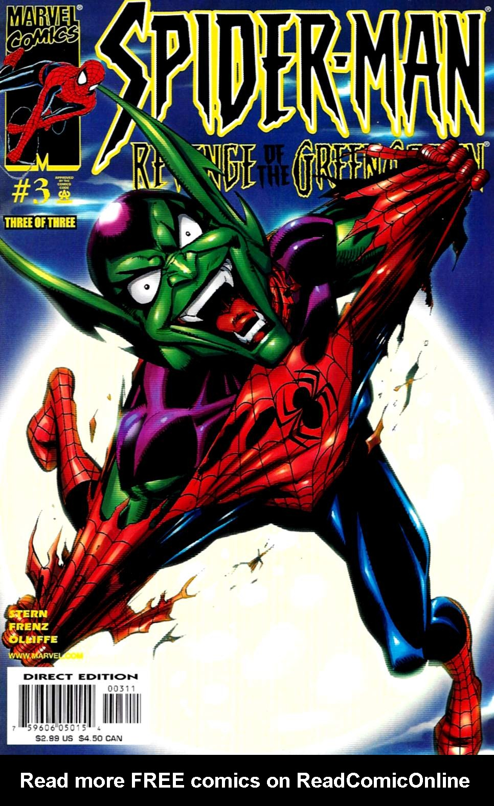 Spider-Man: Revenge of the Green Goblin 3 Page 1