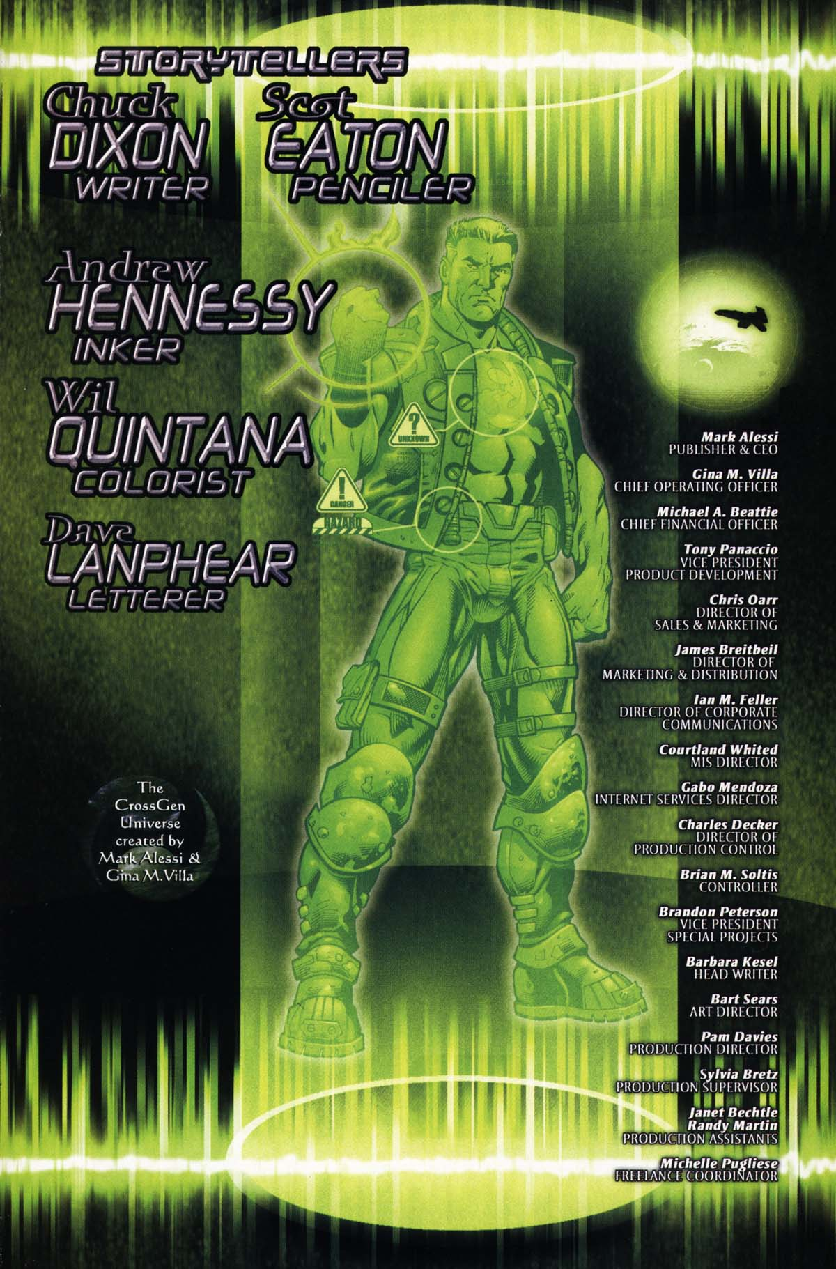 Read online Sigil (2000) comic -  Issue #25 - 33