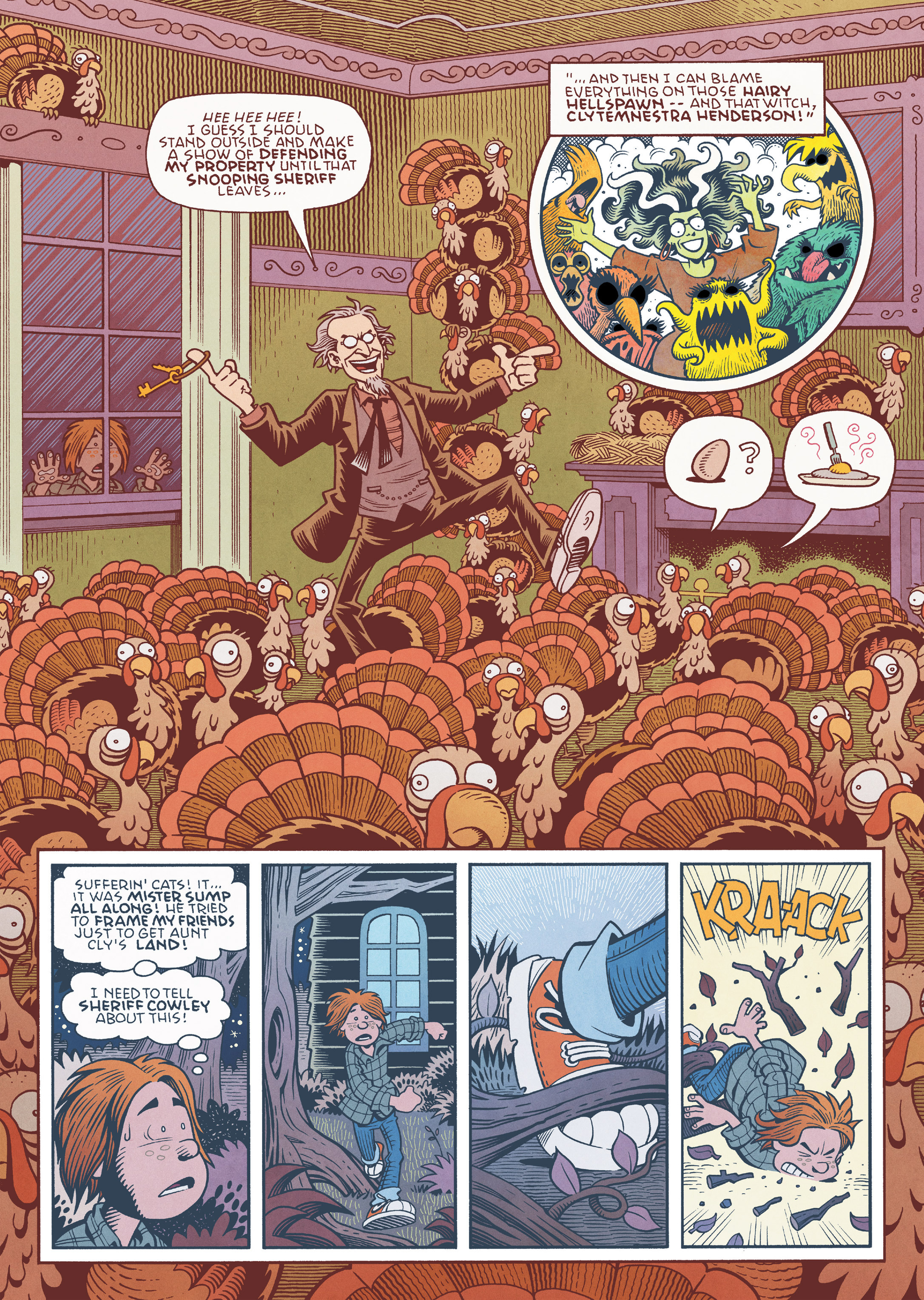 Read online Jim Henson's The Musical Monsters of Turkey Hollow comic -  Issue # Full - 69