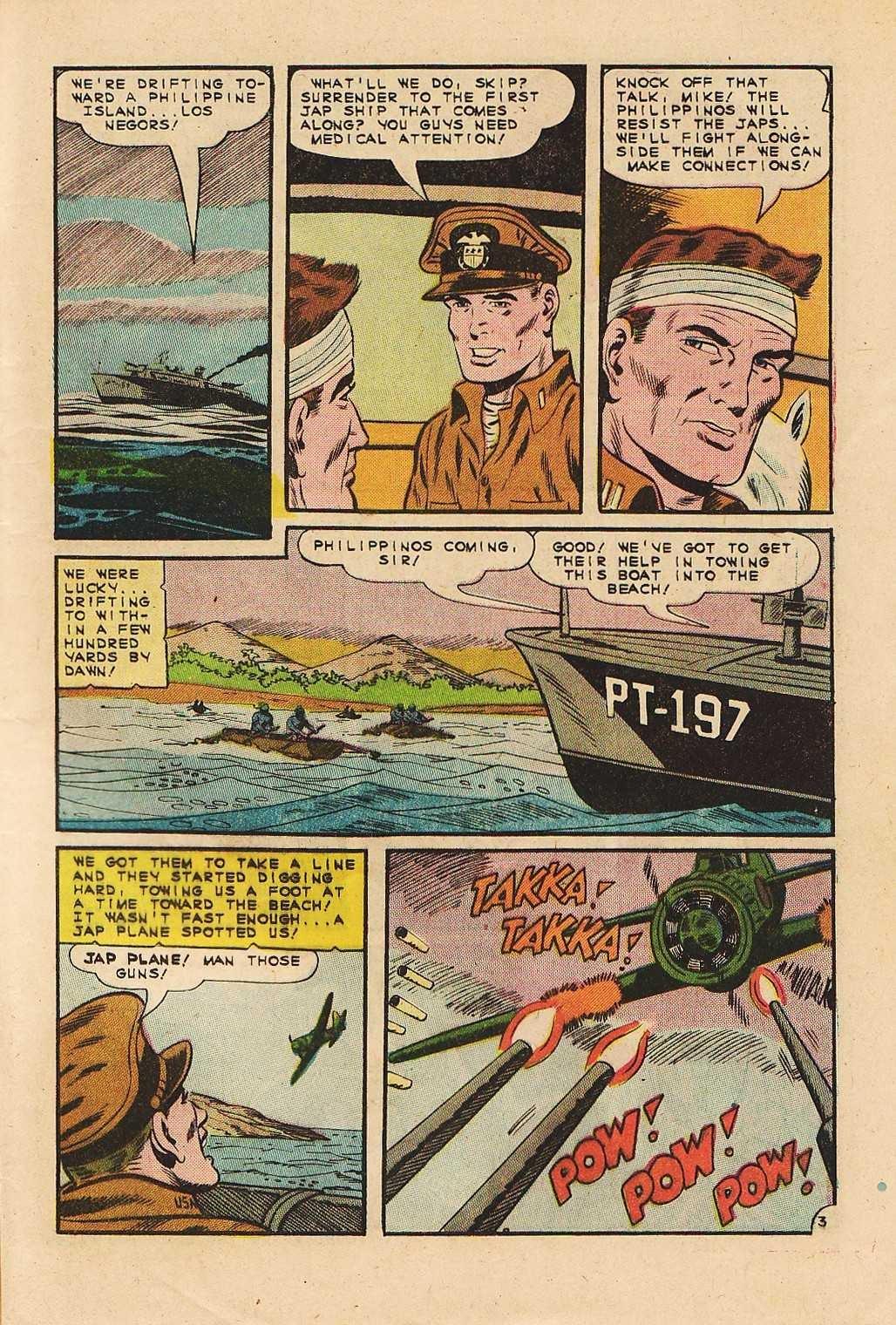 Read online Fightin' Navy comic -  Issue #121 - 5