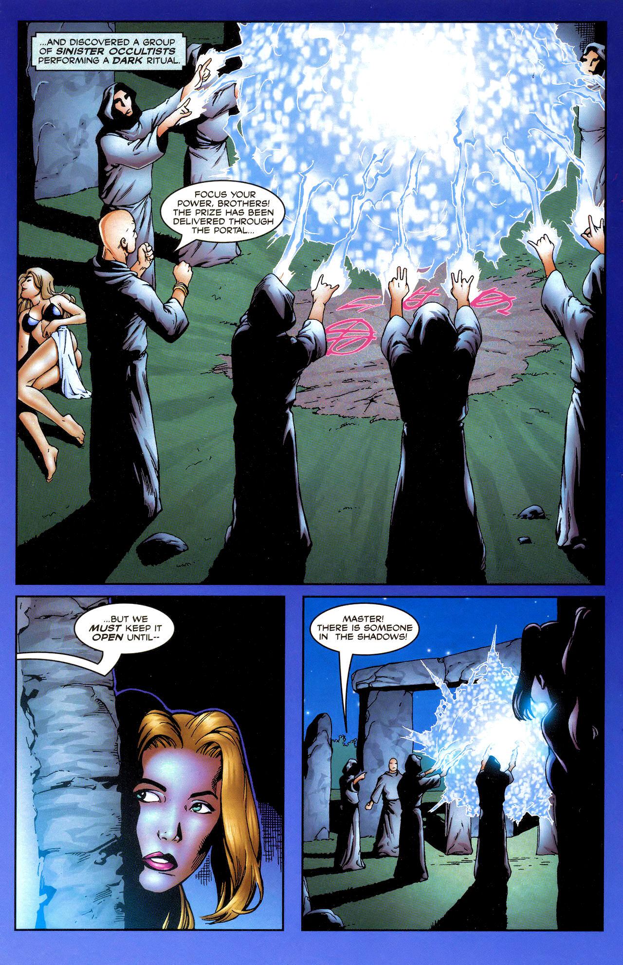 Read online Avengelyne: Dragon Realm comic -  Issue #0.5 - 12