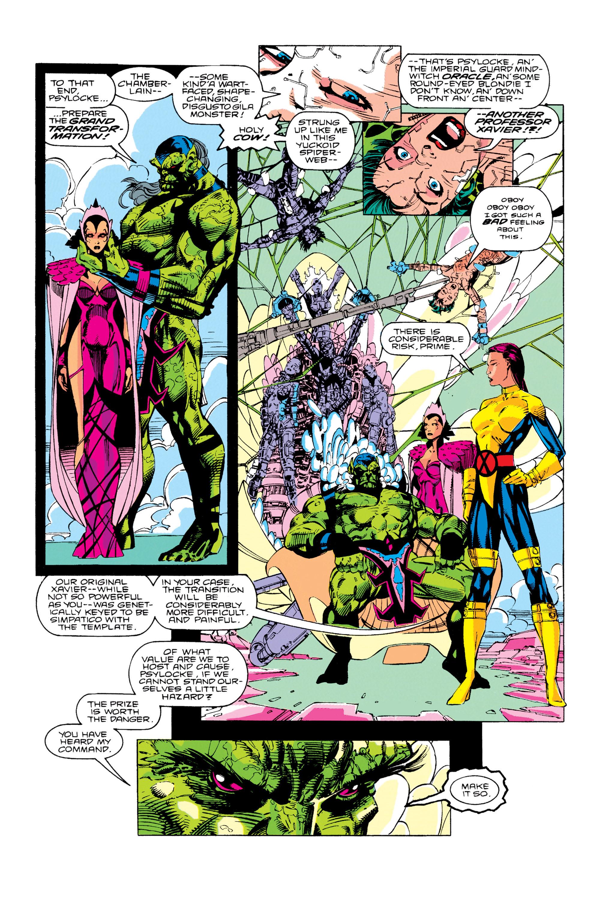 Read online Uncanny X-Men (1963) comic -  Issue #276 - 23