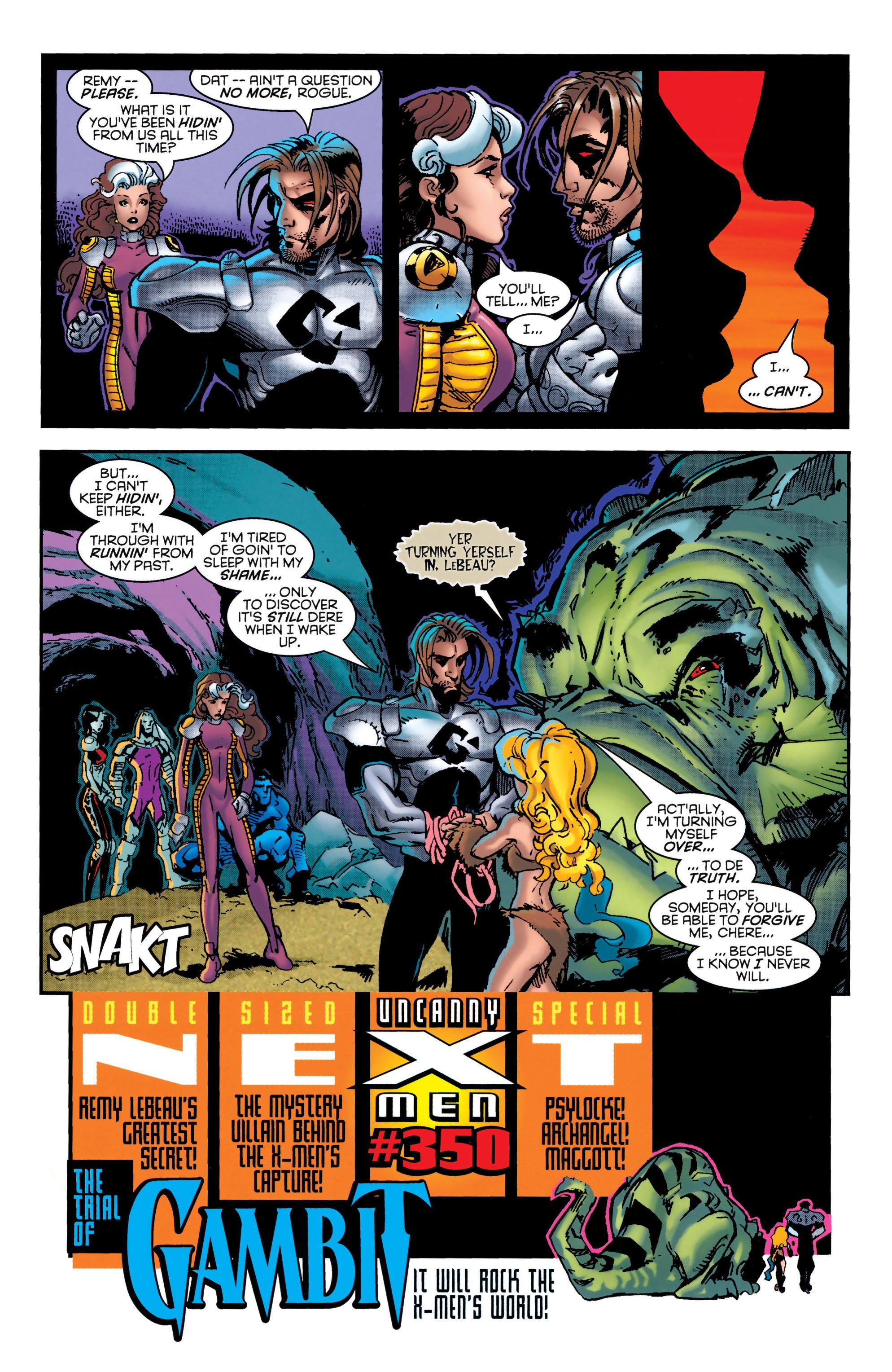 Read online Uncanny X-Men (1963) comic -  Issue #349 - 23
