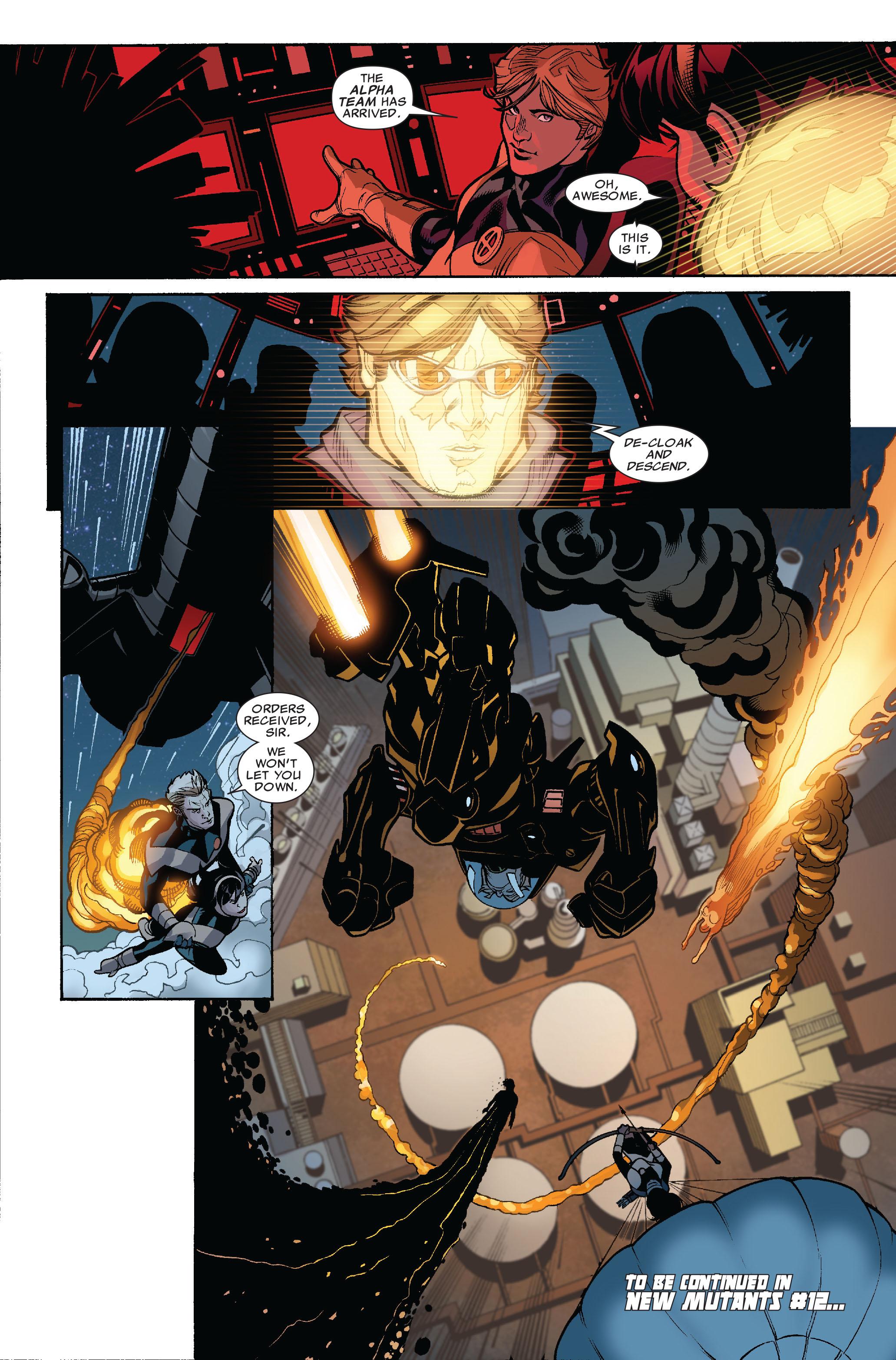 Read online Uncanny X-Men (1963) comic -  Issue #523 - 24