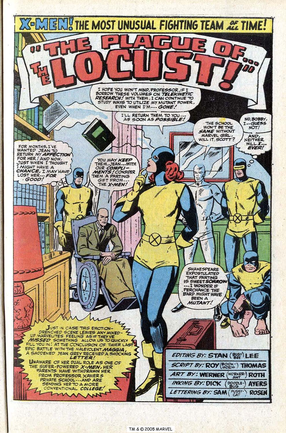 Read online Uncanny X-Men (1963) comic -  Issue #72 - 27