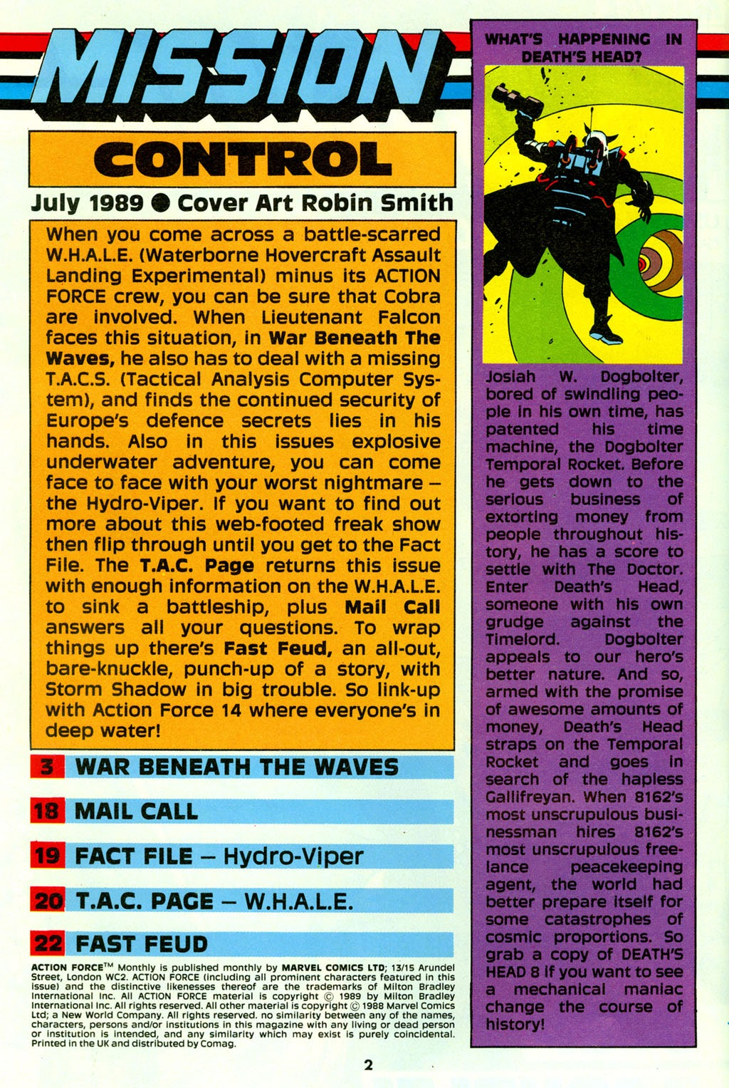 G.I. Joe European Missions issue 14 - Page 3
