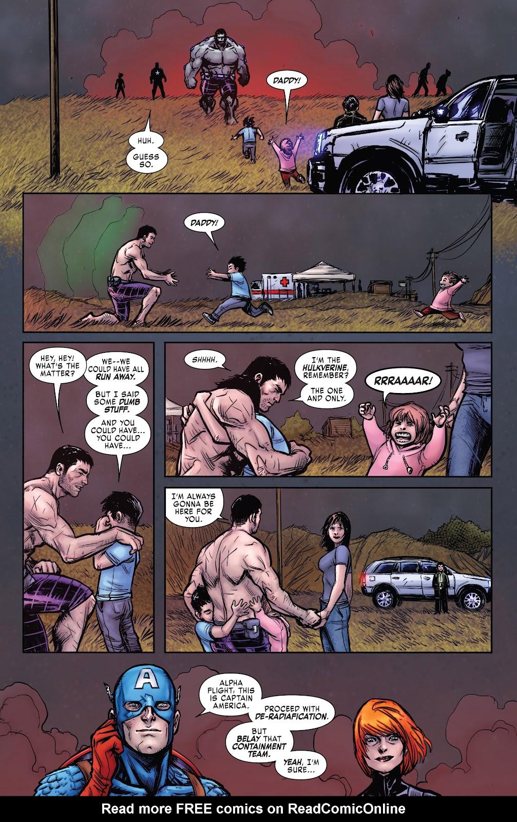 Read online Hulkverines comic -  Issue #3 - 29