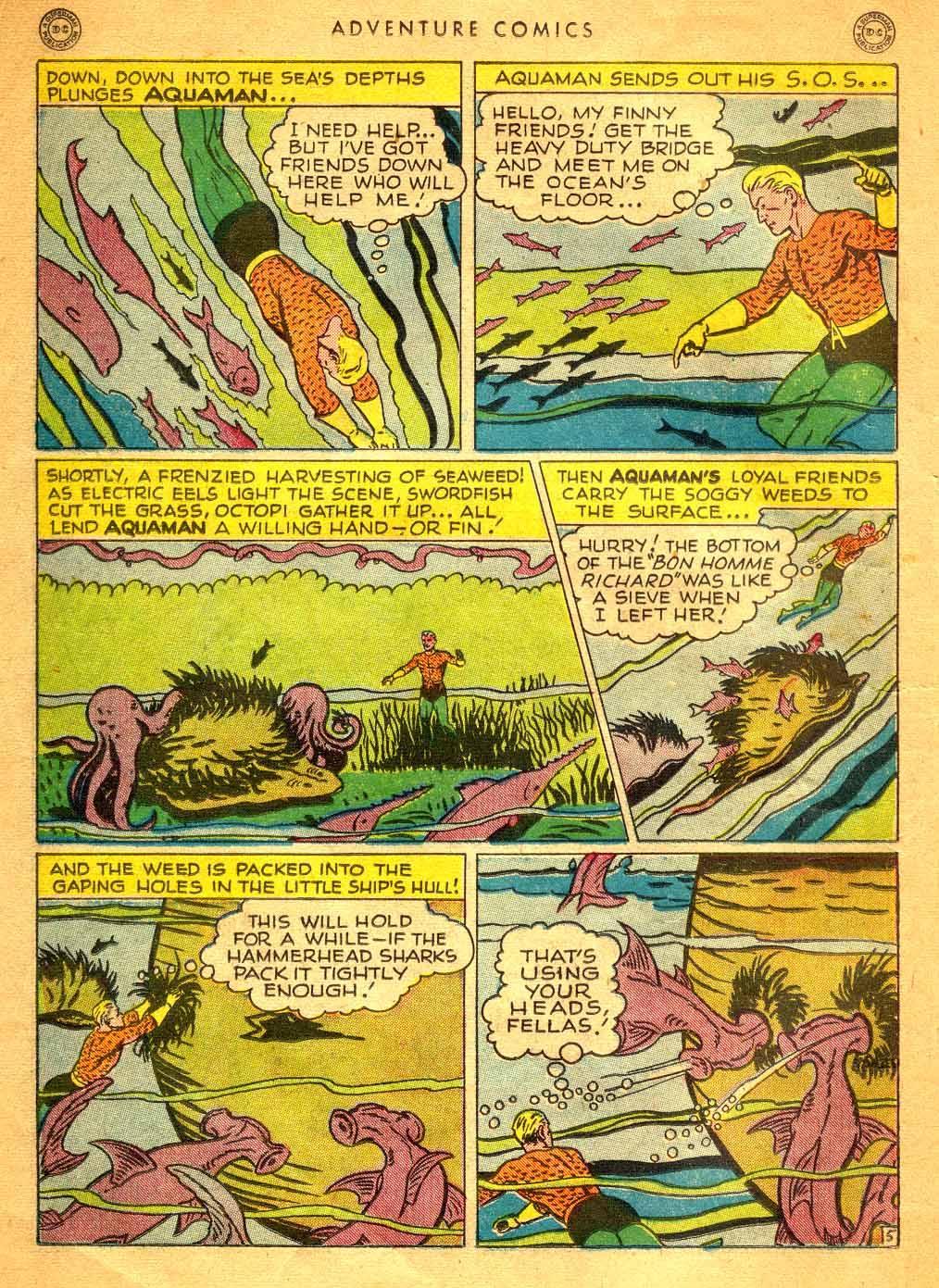 Read online Adventure Comics (1938) comic -  Issue #121 - 17