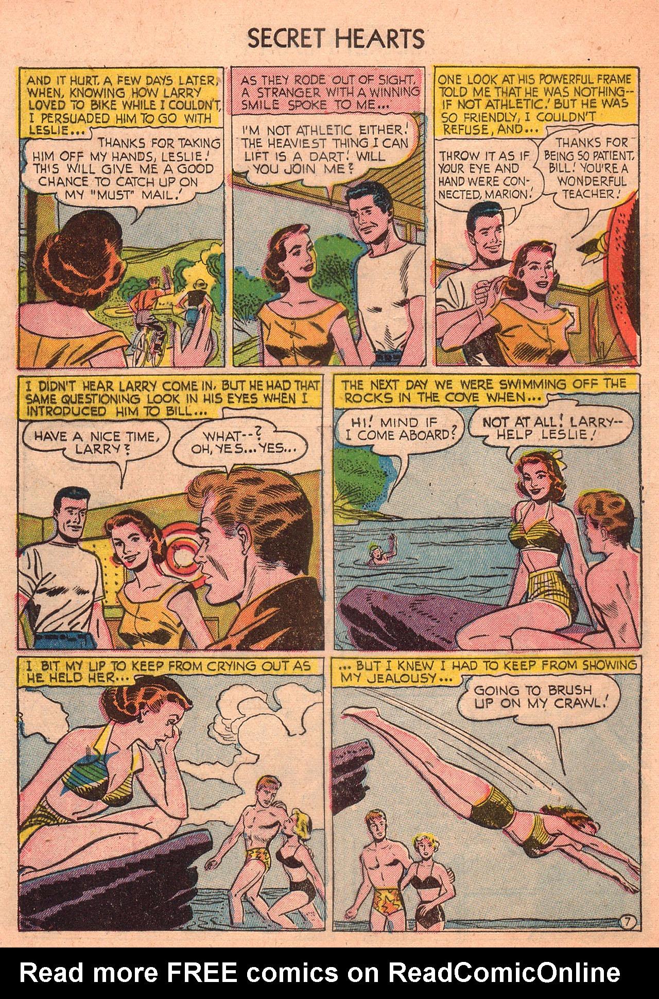 Read online Secret Hearts comic -  Issue #23 - 32