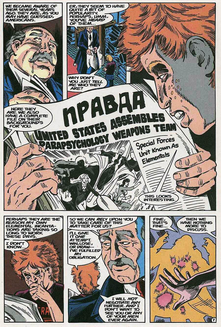 Elementals (1984) issue 19 - Page 9