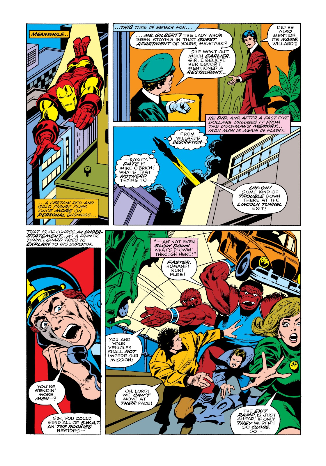Read online Marvel Masterworks: The Invincible Iron Man comic -  Issue # TPB 11 (Part 2) - 67