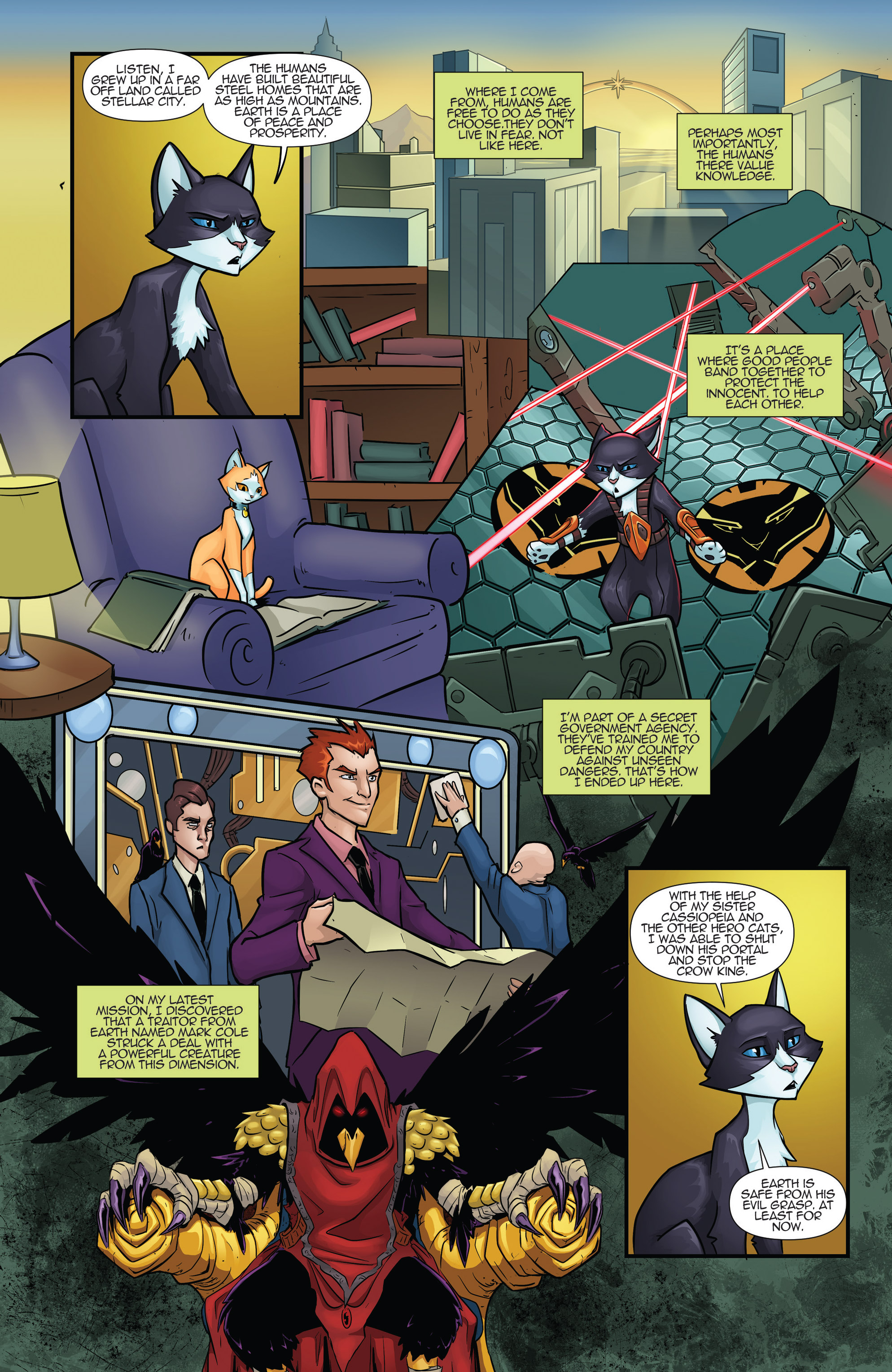 Read online Hero Cats comic -  Issue #17 - 4