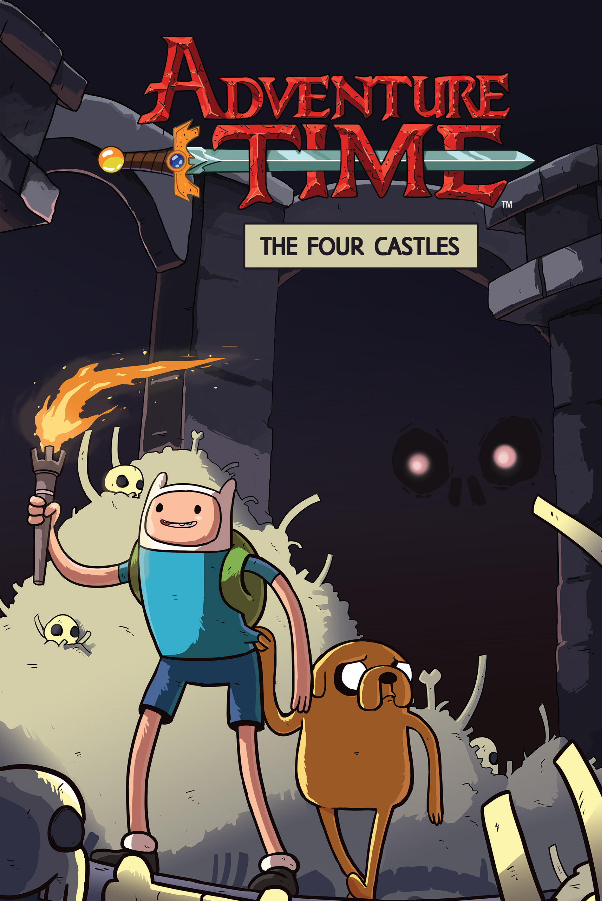 Read online Adventure Time: The Four Castles comic -  Issue #Adventure Time: The Four Castles TPB - 1