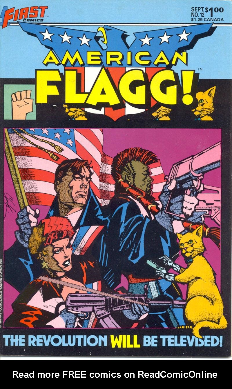 Read online American Flagg! comic -  Issue #12 - 1