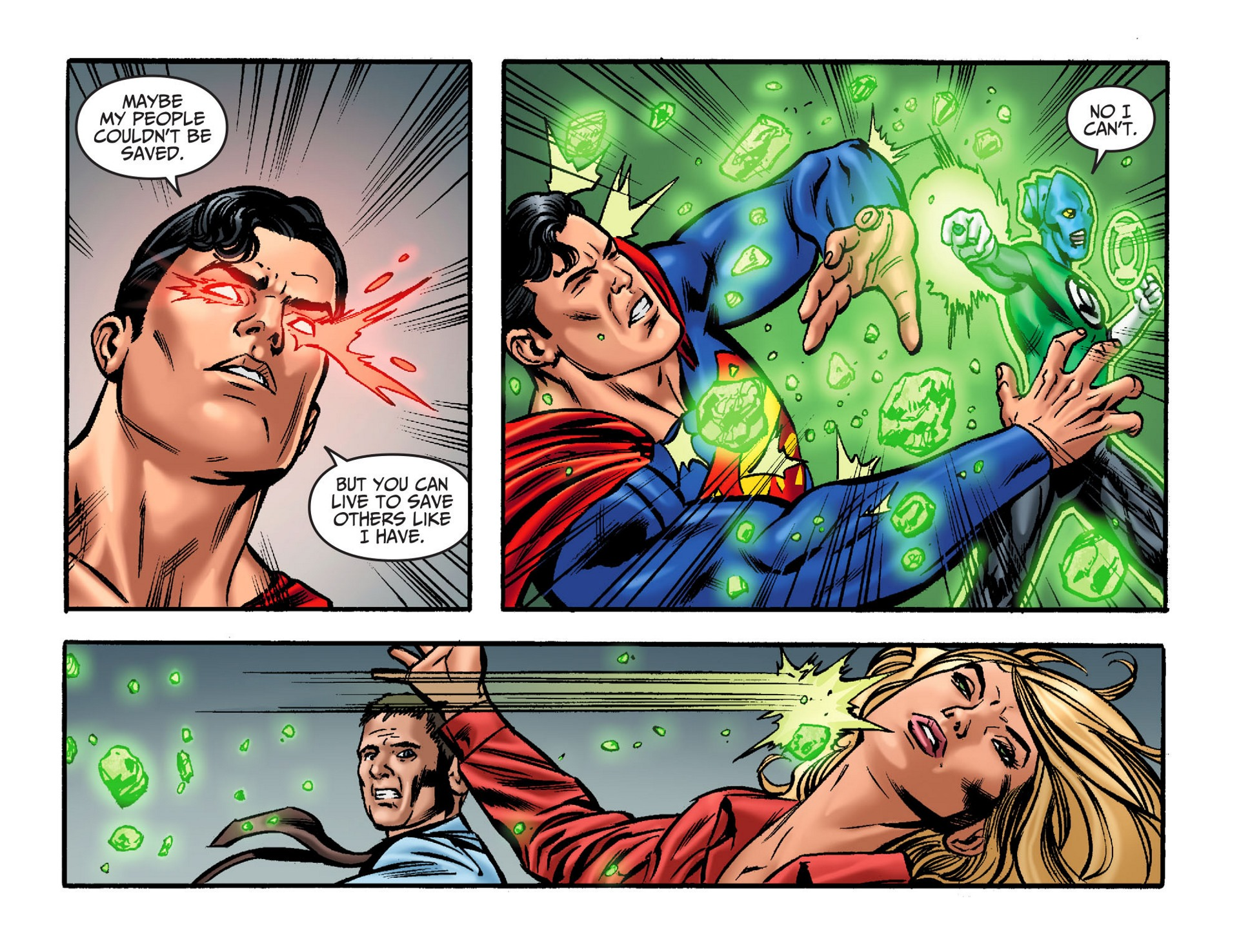 Read online Adventures of Superman [I] comic -  Issue #32 - 13