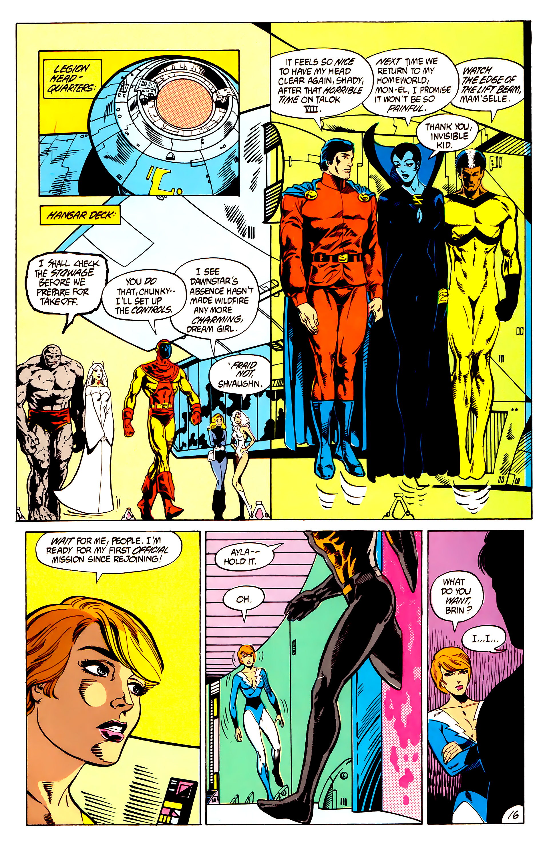 Legion of Super-Heroes (1984) 7 Page 17