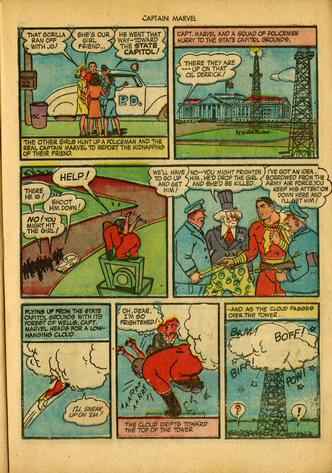 Captain Marvel Adventures issue 34 - Page 13