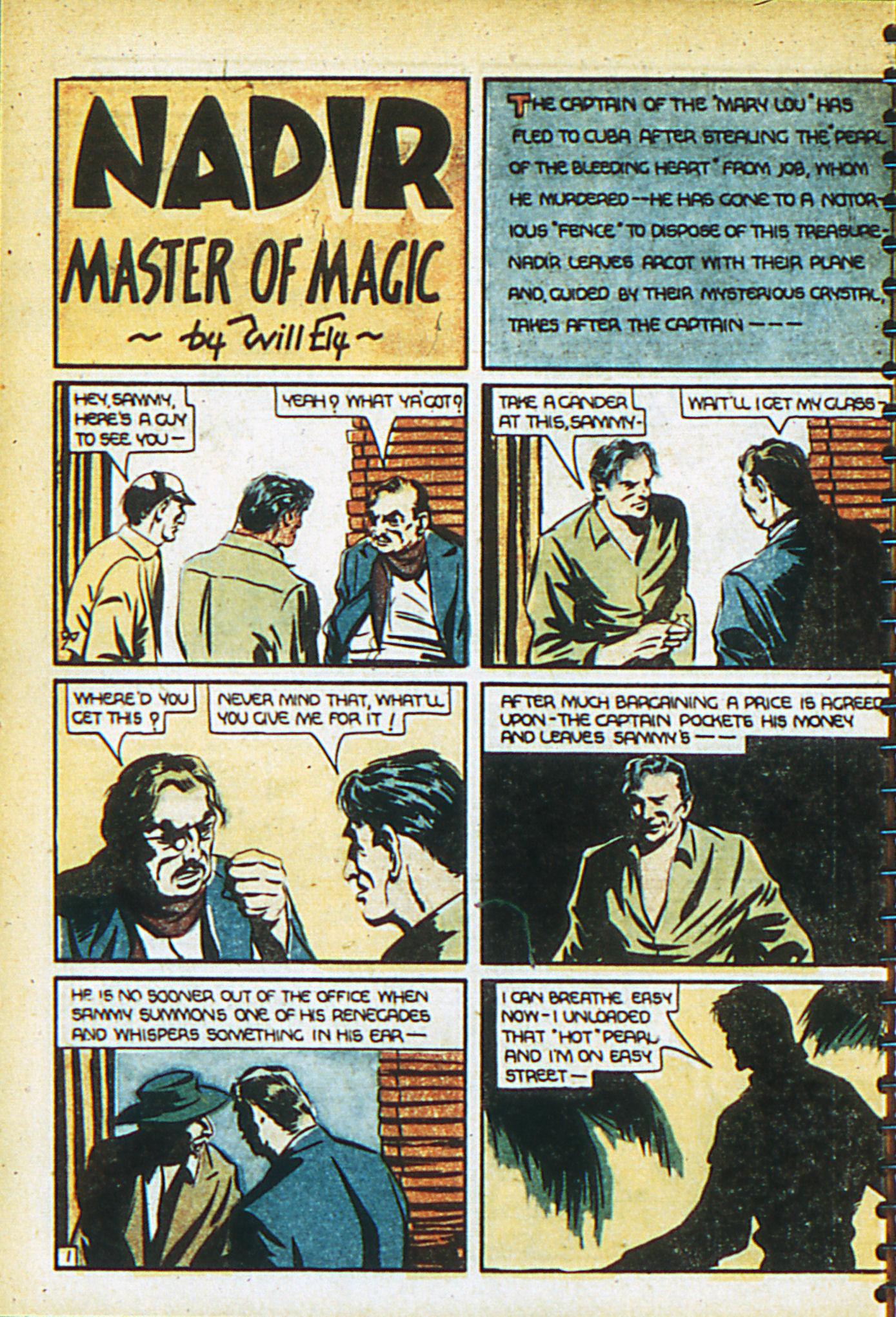 Read online Adventure Comics (1938) comic -  Issue #26 - 11