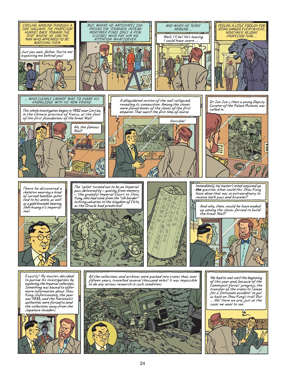 Read online Blake & Mortimer comic -  Issue #25 - 26