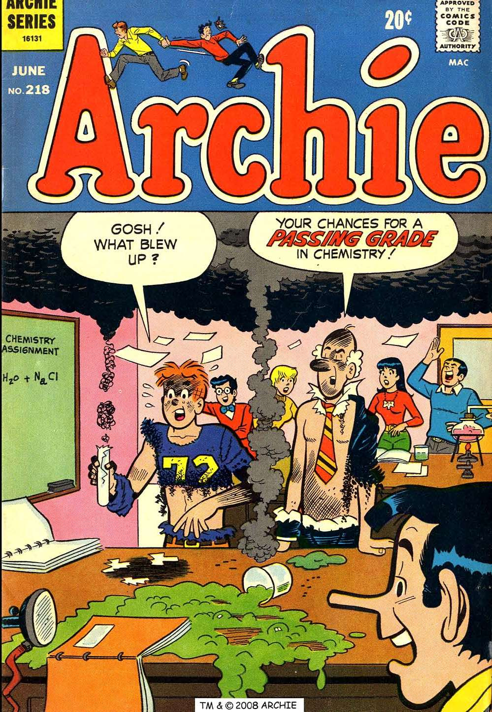 Read online Archie (1960) comic -  Issue #218 - 1