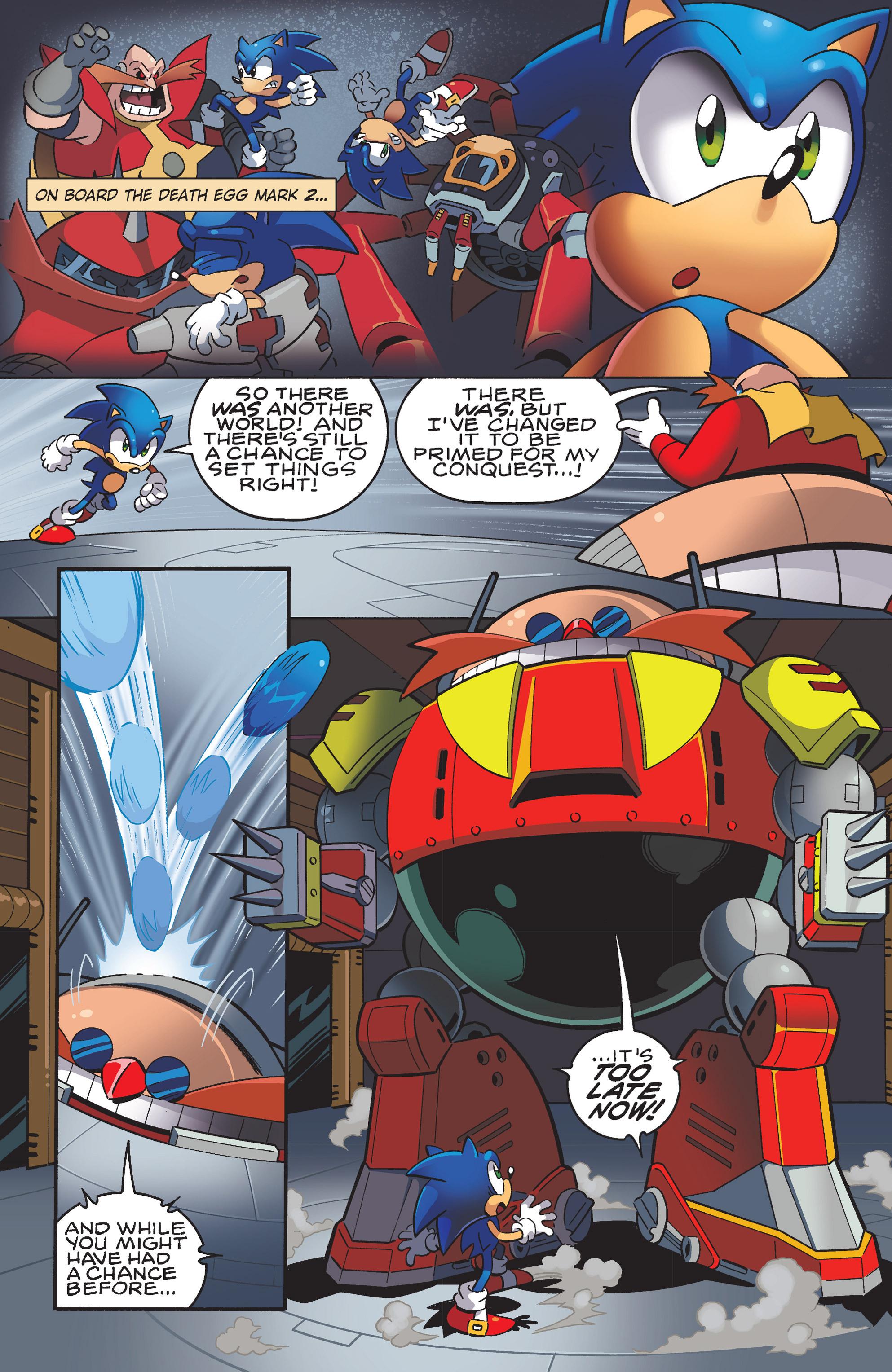 Read online Sonic Mega Man Worlds Collide comic -  Issue # Vol 3 - 35