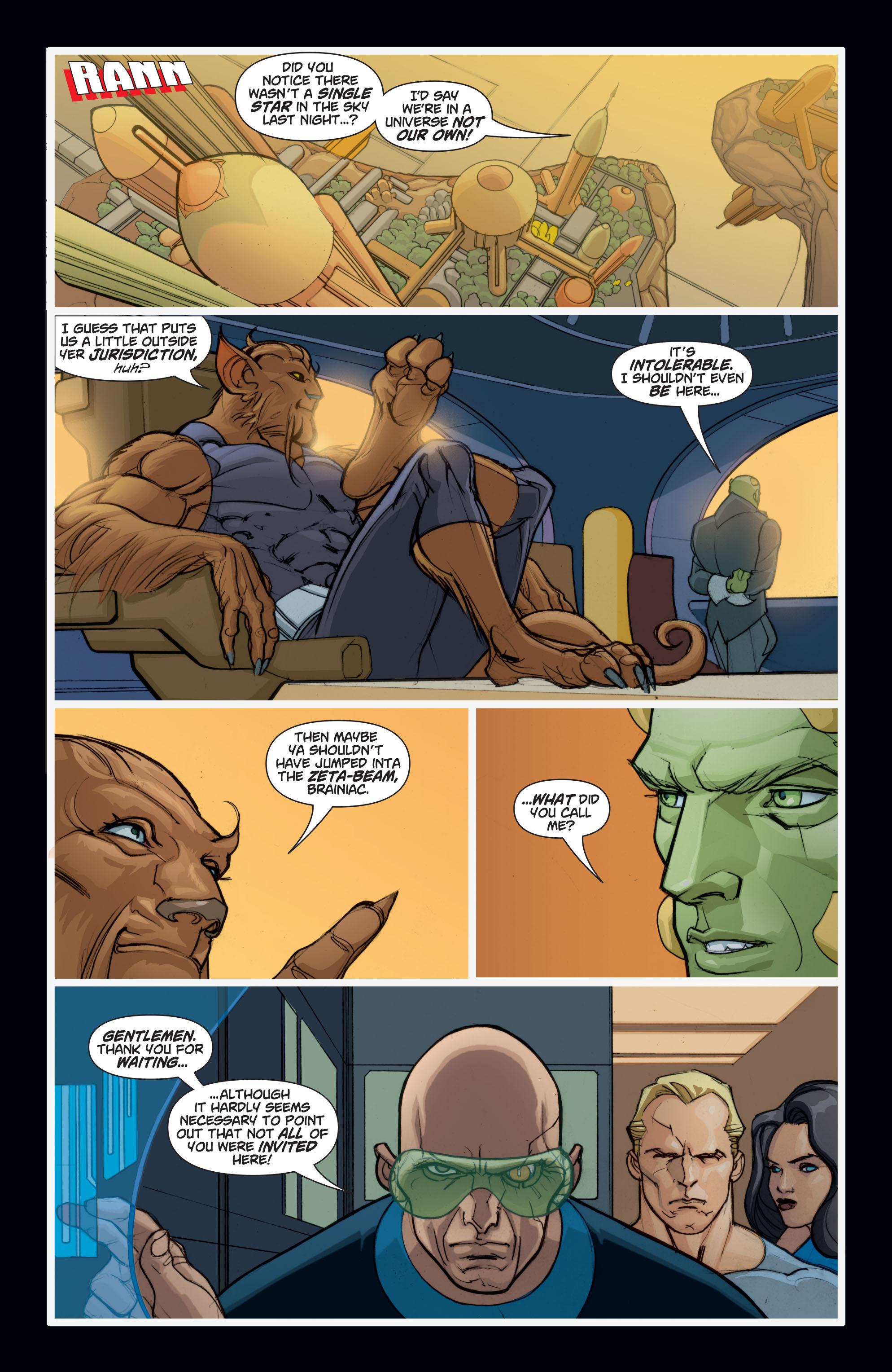 Read online Adam Strange (2004) comic -  Issue #7 - 5