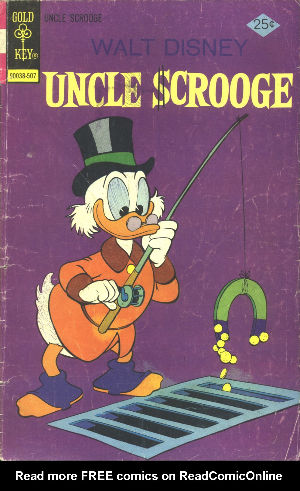 Read online Uncle Scrooge (1953) comic -  Issue #120 - 1