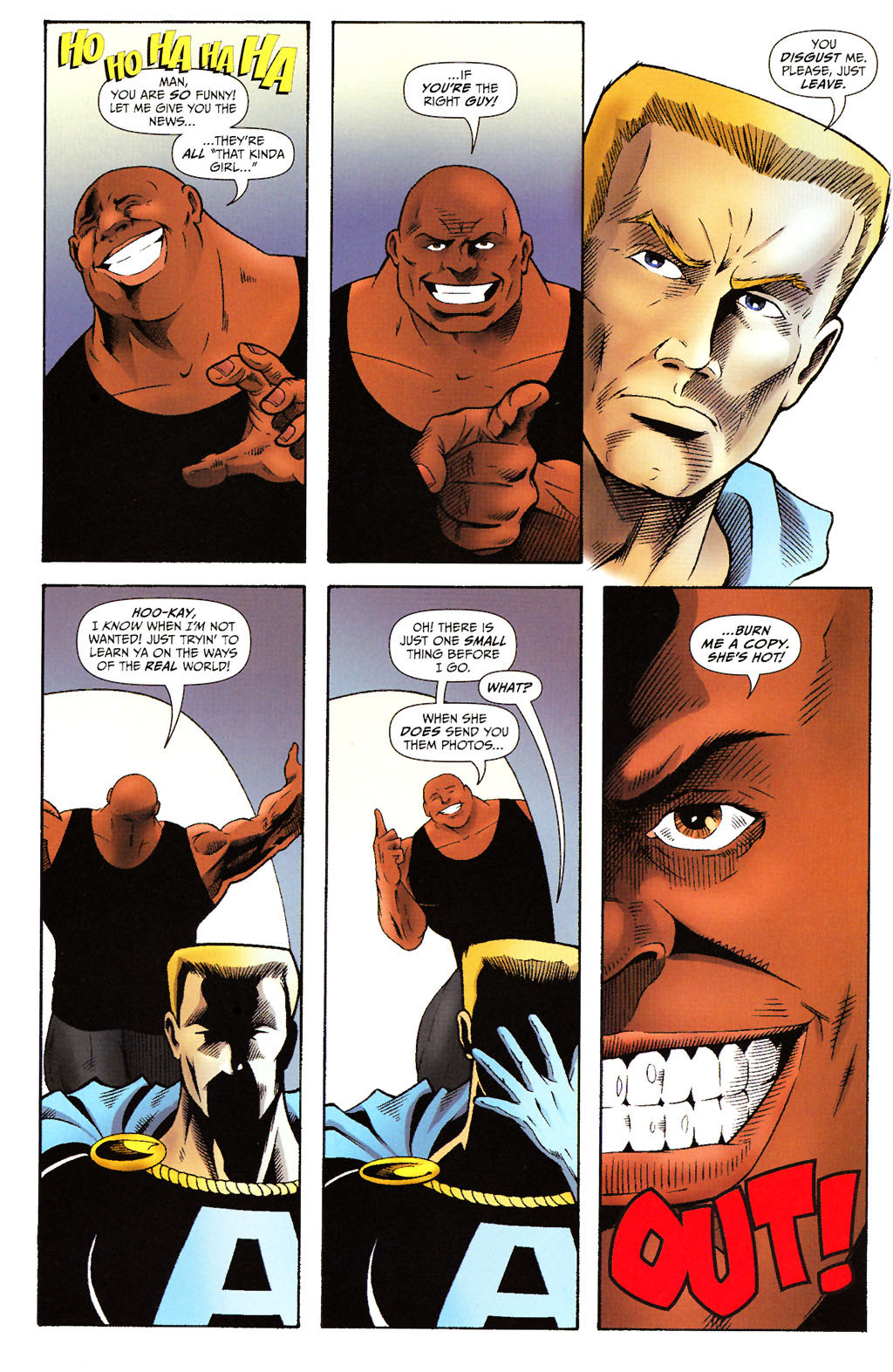 Read online ShadowHawk (2005) comic -  Issue #15 - 11